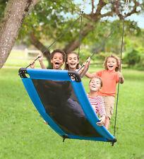 Outdoor Swing for Kids Child Toddler Outside Garden Hanging Platform Hammock