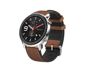 Smartwatch Amazfit GTR 47 mm stainless steel AMOLED-Display NEU & OVP