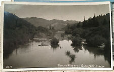 SONOMA, CALIF. Wm. McClearie Photo Post Card 1905-15 GUERNEVILLE Russian River