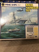 HORNBY MINIC SHIPS TRIANG M906 NAVAL HARBOUR SET BRAND NEW SET COMPLETE
