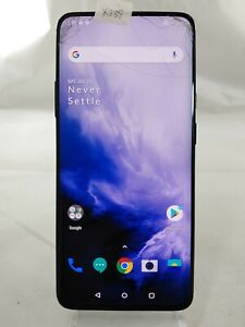 "OnePlus 7 Pro GM1911 256GB AT&T GSM Unlocked Dual SIM 6.67"" Smartphone Blue X338"