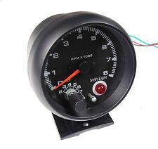 Universal 80 mm Tachimetro Gauge RPM CON LUCE CAMBIO IDEALE PER AUTO DA CORSA KIT