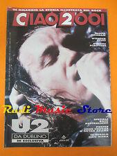 rivista CIAO 2001 5/1990 POSTER John Cougar U2 Tanita Tikaram Wonder Stuff No*cd