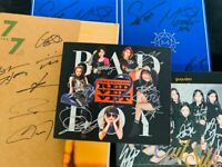 KPOP IDOL BOYS, GIRLS GROUP PROMO ALBUM Signed (Autographed) ALL MEMBER #191217