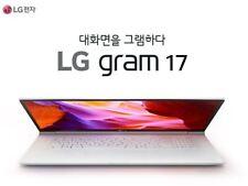 "LG Gram 17ZD990-GX30K 17"" 8GB/128GB WQXGA Laptop Notebook -Free dos"