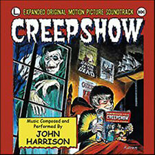 """""""Creepshow"""" Soundtrack by John Harrison + other source cues. Brand new CD!"""