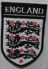 ENGLAND Embroidered Iron Sew On Patch Dress Costume T Shirt Bag badge