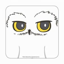 HARRY POTTER HEDWIG OWL CARTOON STYLE TABLE DRINKS COASTER MAT