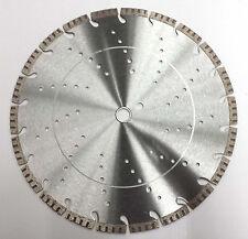 "2Pk 14"" Turbo Segmented Premium Diamond Saw Blade- True 12mm Segment Height"