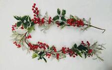 Christmas Tree Party Events Ornaments Xmas Garland Berry Home Garden Car Decor