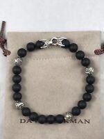 DAVID YURMAN 8mm Spiritual Beads Bracelet With Onyx