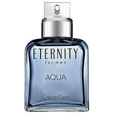 Unbox Bottle : ETERNITY AQUA By Calvin Klein Men COLOGNE SPRAY 3.4 OZ/ 100 ML