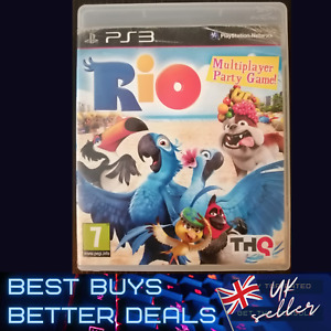 RIO PS3 Playstation 3 Game Multiplayer Party TESTED VGC