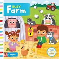 Busy Farm (Busy Books) by Forshaw, Louise, NEW Book, FREE & Fast Delivery, (Boar