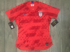 Nike USWNT World Cup Soccer Jersey Womens Size Medium Slim Fit Red NWT $90.00