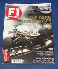 F1 RACING NOVEMBER 2012 - THE DARK HORSE RISES