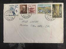 1959 Johana Japan Airmail To Czechoslovakia