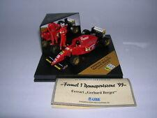 Göde Edition Formel 1 Ferrari 412 T2 m. Fahrerfigur Gerhard Berger, 1:43 #28