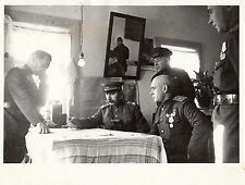 WORLD WAR ll ~ 65TH RUSSIAN ARMY ~ MARSHAL BUDYONNY ~ NOVOSTI PRESS PHOTO-1943
