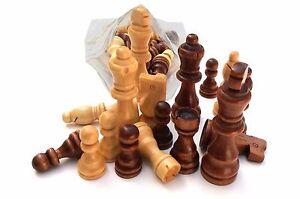 Big Chess Parts - Set Of 32 Wooden Parts,Pieces Big Parts KING SIZE 10 Cm !!!