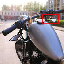 Motorcycle Rearview Mirrors 8/10mm For Harley Victory Cruiser Chopper Bobber US