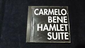 Carmelo Bene: Hamlet Suite. CD 1994 Con dedica autografa