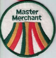 Master Merchant 3.5 inch Round Unused Orange Green Yellow White