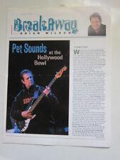 BRIAN WILSON Breakaway fan club #8 2000 Pet Sounds Hollywood Bowl
