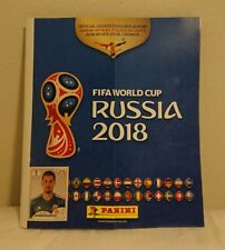 Panini 2018 FIFA World Cup Russia Empty Sticker Album USA US Edition Version
