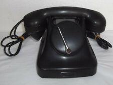 FÜR SAMMLER: SCHÖNES ALTES BAKELIT TELEFON AUS DÄNEMARK NEBENSTELLENTELEFON#9128