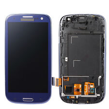 Display LCD blu per Samsung Galaxy S3 i9300 i9305 Touch Screen Assembly+Frame Z