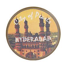 Fridge Magnet Pearl City Hyderabad Telangana India Souvenir Button Pin Badge