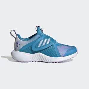 Adidas X Disney Forta Run Toddler Girls Elsa Sneakers GS Running Blue Shoe