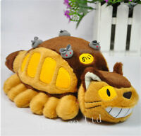 Studio Ghibli My Neighbor Totoro Cat Bus Stuffed Plush Toy Doll