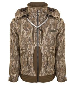 Drake Waterfowl Guardian Flex Jacket Mens Size SMALL Bottom Land Camo SALE