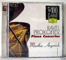 RAVEL / PROKOFIEV PIANO CONCERTOS  CD
