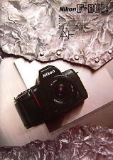 Nikon F-801S AF Prospekt brochure deutsch german - (0729)