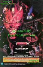 Star Wars Unleashed: Darth Maul FURY: HASBRO: Print Ad!