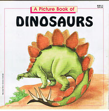 A Picture Book of Dinosaurs Paperback by Claire Nemes 1990