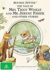 Beatrix Potter Collection - The Tale Of Mrs Tiggy Winkle And Mr Jeremy Fisher : Vol 2 (DVD, 2009)