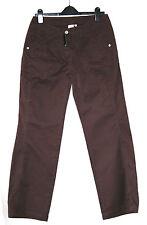 Siguiente (UK10/EU38/US6) 100% Algodón Pantalones Marrón Oscuro-Nuevo