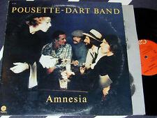 POUSETTE-DART BAND Amnesia LP Capitol 1977 Clean Orignl