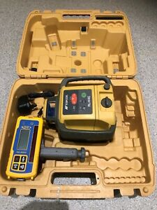 topcon rl-h4c Rotary Slope Laser Level With Spectra HL 450 Receiver Not Hilti
