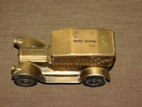 "VINTAGE 5 3/4"" LONG THE HERSHEY NATIONAL BANK 1917 CAR METAL BANK"