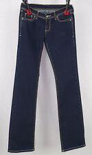 Nine Jeans Indigo Low Rise Boot Jeans Size 28W X 36L