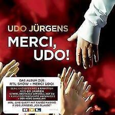 Merci,Udo! von Udo Jürgens (2016) 20 sehr bekannte Lieder NEU