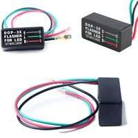 New 12V 3Pin Electronic Flasher Relay Fix LED Turn Signal Light Flash Motorcycle