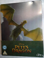 PETE'S DRAGON Sealed/Imperfect Blu-Ray STEELBOOK Disney Movie 2016 Film