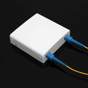 1pcs NEW 2 Port Wall Mountable SC Fiber Termination Box (Box only) #Ci04
