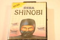 Sega Master System  Boxed Game SHINOBI 1988
